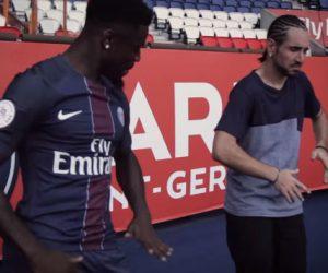 Quand Spotify et Séan Garnier font danser et frestyler les joueurs du PSG