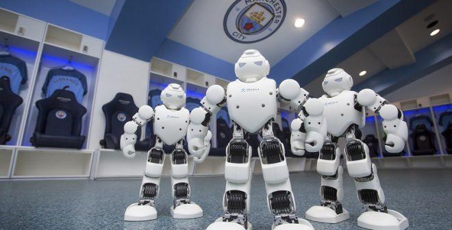 "Ubtech ""Robot Officiel"" de Manchester City"