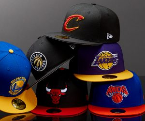 New Era partenaire casquette officiel de la NBA, la WNBA et la NBA D-League