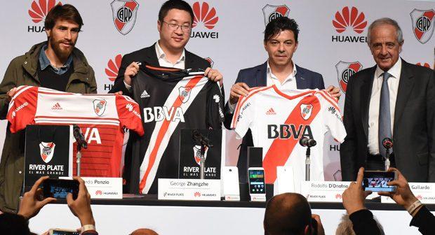 Huawei renforce sa présence en Argentine en devenant partenaire de River Plate