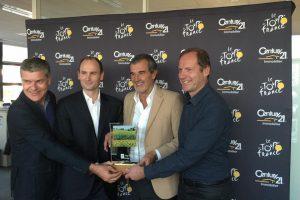 Century 21 Partenaire Officiel du Tour de France jusqu'en 2019