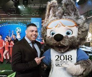 "Le loup ""Zabivaka"" élu mascotte de la Coupe du Monde de football 2018"