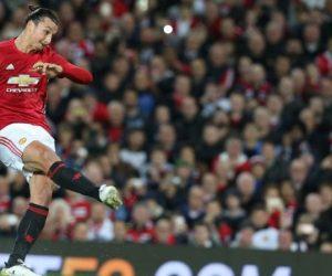 Zlatan Ibrahimovic – Une mi-temps en adidas, une mi-temps en Nike pour le derby de Manchester