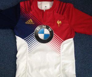 Sponsoring – BMW prolonge avec la FFR et fait son apparition sur le maillot de l'Equipe de France des -20 ans