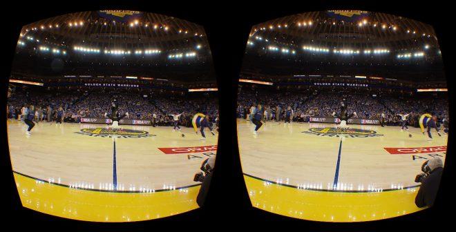La NBA retransmettra un match par semaine en Réalité Virtuelle avec NextVR