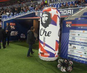 «Che Guevara Rebel Spirit Energy Drink» Partenaire Officiel de l'Olympique Lyonnais