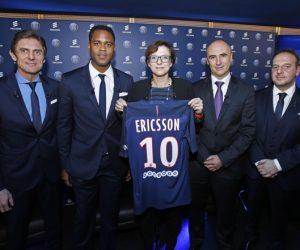 Ericsson nouveau Partenaire Officiel du Paris Saint-Germain