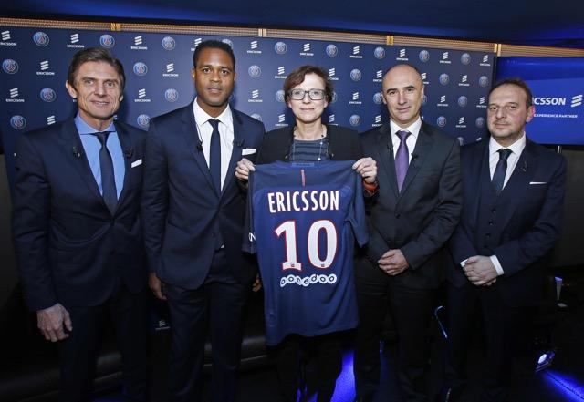 L1 - PSG : Ericsson nouveau sponsor du club