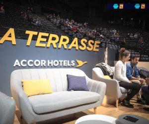 Décryptage du dispositif «Tweet Your Seat» et de La Terrasse VIP AccorHotels lors du BNP Paribas Masters