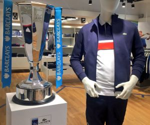 Tennis – Lacoste prolonge avec le Barclays ATP World Tour Finals