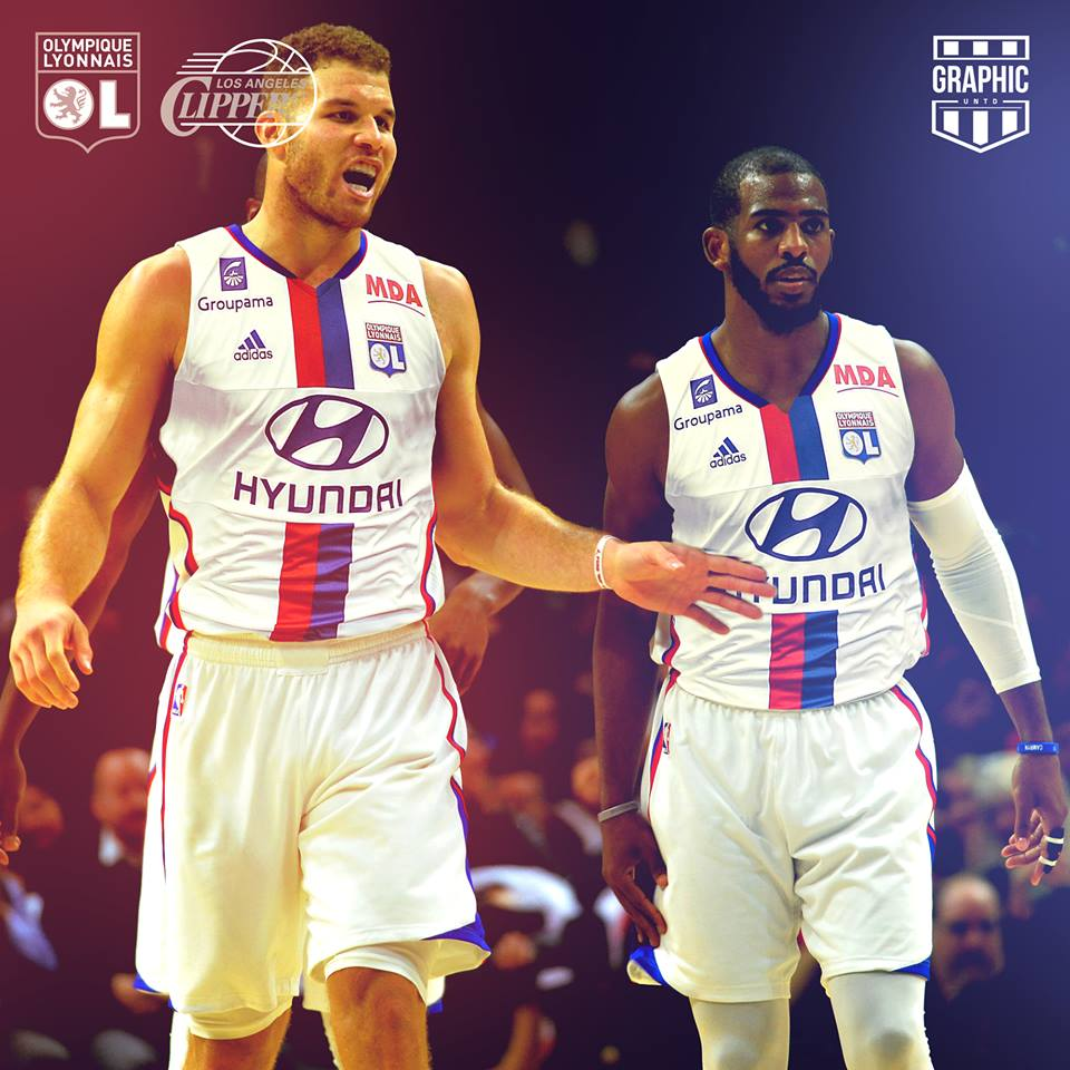 olympique-lyonnais-los-angeles-clippers-maillot-nba