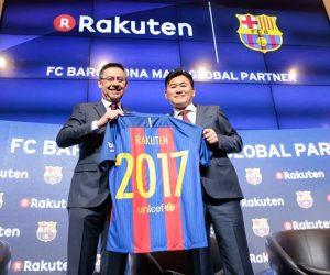 Rakuten nouveau sponsor maillot du FC Barcelone et Partenaire Global dès 2017-2018
