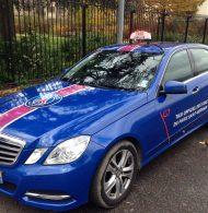 Les dessous de l'activation G7 et ses taxis personnalisés aux couleurs du PSG