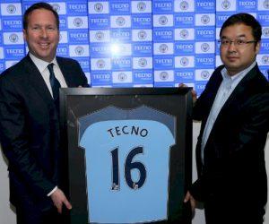 Sponsoring – Manchester City signe avec TECNO Mobile
