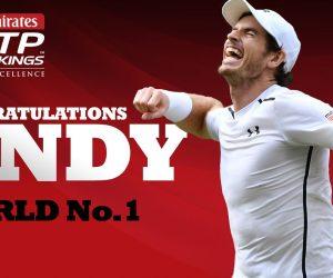 Nouveau numéro 1 mondial, Andy Murray fait le plein de nouveaux Fans sur les réseaux sociaux