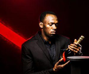 Usain Bolt nouvel ambassadeur du Champagne Mumm