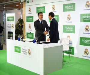 Codere Apuestas nouveau partenaire du Real Madrid
