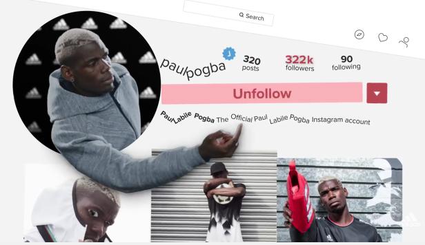Paul Pogba mis en scène dans la dernière publicité adidas