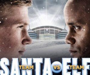 Manchester City lance sa campagne marketing dédiée à Noël