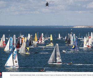 Le Vendée Globe 2016 bat des records notamment sur le Digital
