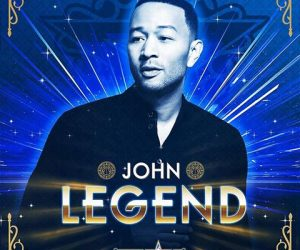 John Legend pour le show de la mi-temps du 66ème NBA All-Star Game