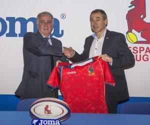 Joma se lance dans le rugby en devenant l'équipementier de la Fédération Espagnole