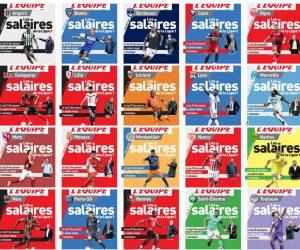 L'Equipe consacre 20 pages aux salaires des joueurs de Ligue 1 (2016-2017)