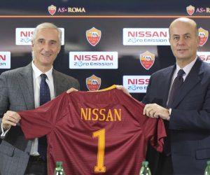 Nissan nouveau partenaire de l'AS Roma