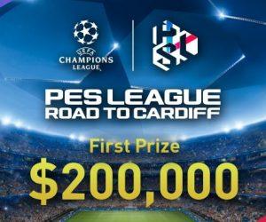 eSport – 200 000$ pour le vainqueur de l'UEFA Champions League sur PES 2017 (Konami)
