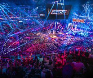 Snickers renouvelle sa confiance à la WWE pour le Wrestlemania 33