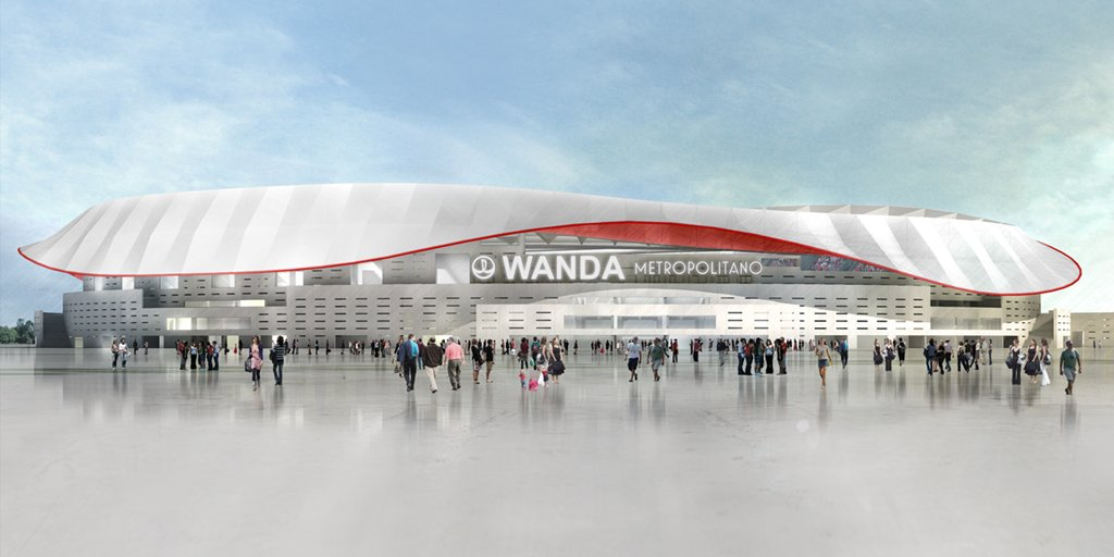 Le nom du nouveau stade de l'Atleti