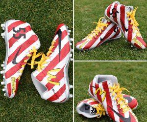 Défilé de chaussures customisées pour la bonne cause en NFL avec «My Cause, My Cleats»
