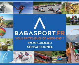 Finies les galères, pour Noël Babasport lance les bons cadeaux sur ses activités !