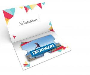Ce que pèse le business des cartes cadeaux Decathlon Pro