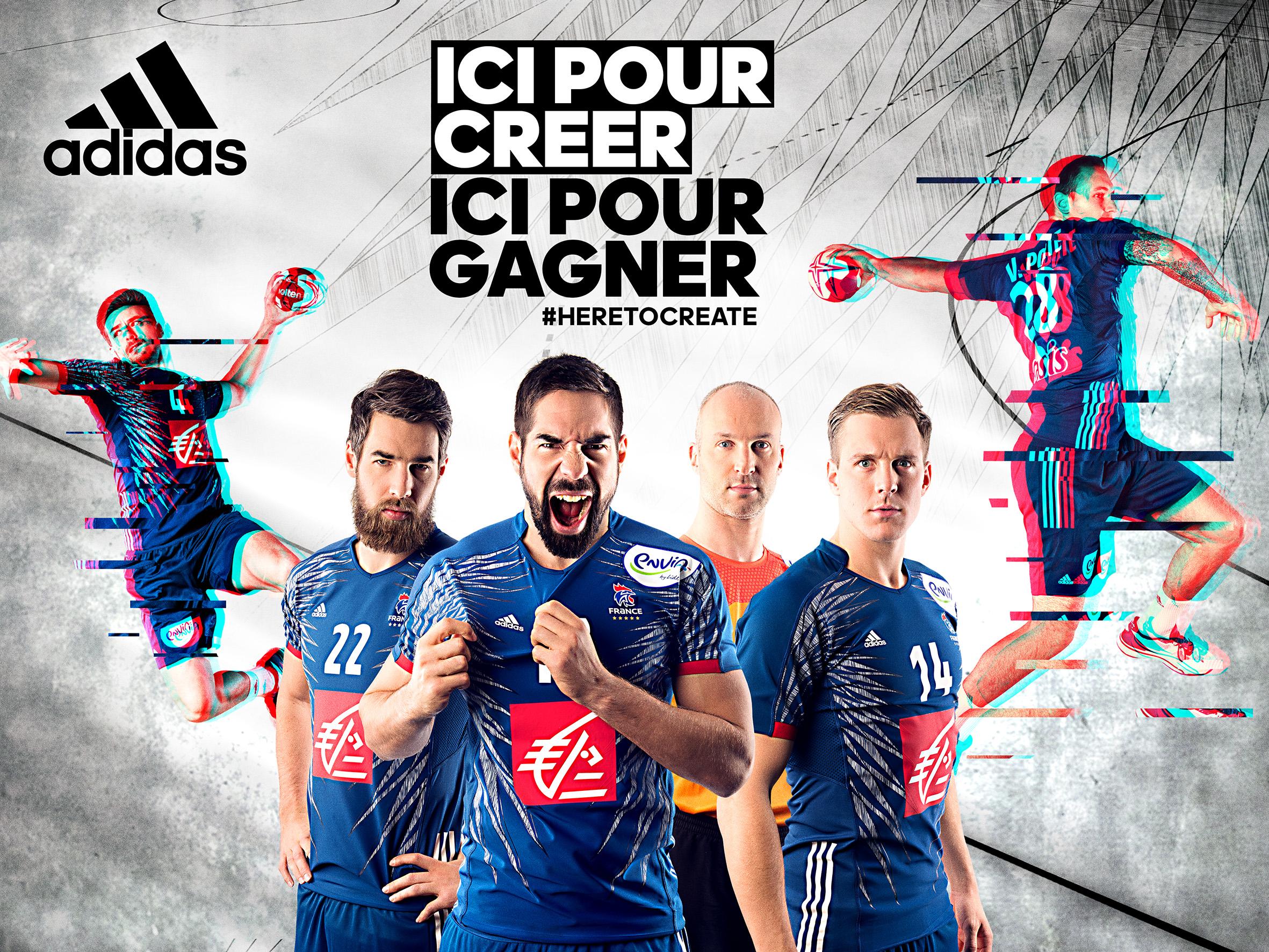 7291799f08dac Mondial 2017 - Un nouveau maillot adidas pour l'Équipe de France de ...