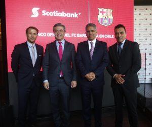 Le bureau New Yorkais du FC Barcelone signe son premier gros contrat sponsoring avec Scotiabank