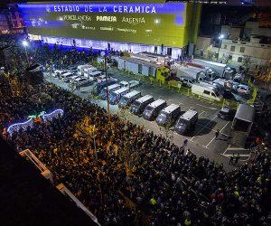 Villarreal dévoile le Naming de son stade «estadio de la Cerámica» de façon spectaculaire