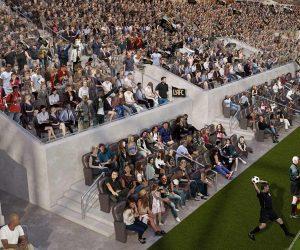 MLS – Le stade du Los Angeles FC offrira une Expérience Fan au plus proche de l'action