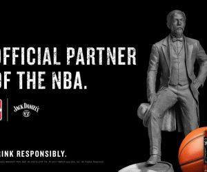 Jack Daniel's nouveau Partenaire Officiel de la NBA