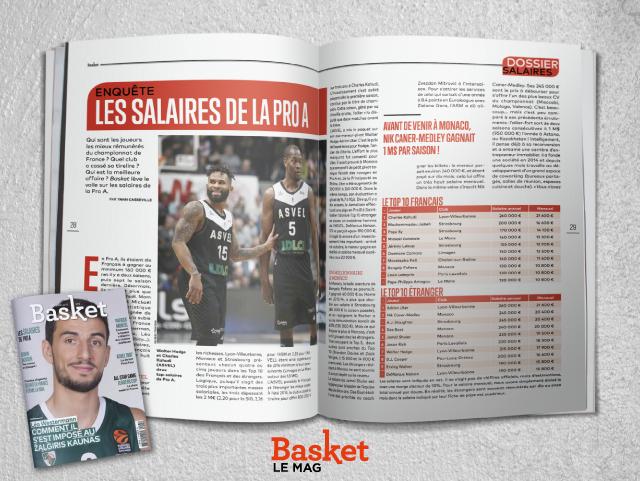 Basket - Quels sont les plus gros salaires des joueurs de Pro A ...