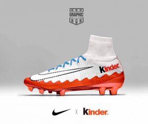 Quand les chaussures de football s'habillent aux couleurs de marques
