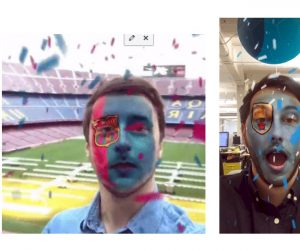 Des filtres Snapchat aux couleurs des plus gros clubs de foot européens