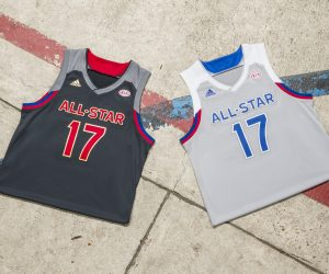 adidas dévoile ses dernières tenues pour le NBA All-Star Game 2017