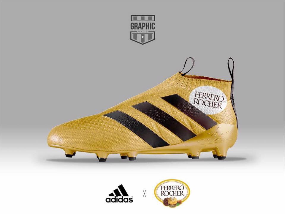 Quand les chaussures de football s\u0027habillent aux couleurs de marques ,  SportBuzzBusiness.fr