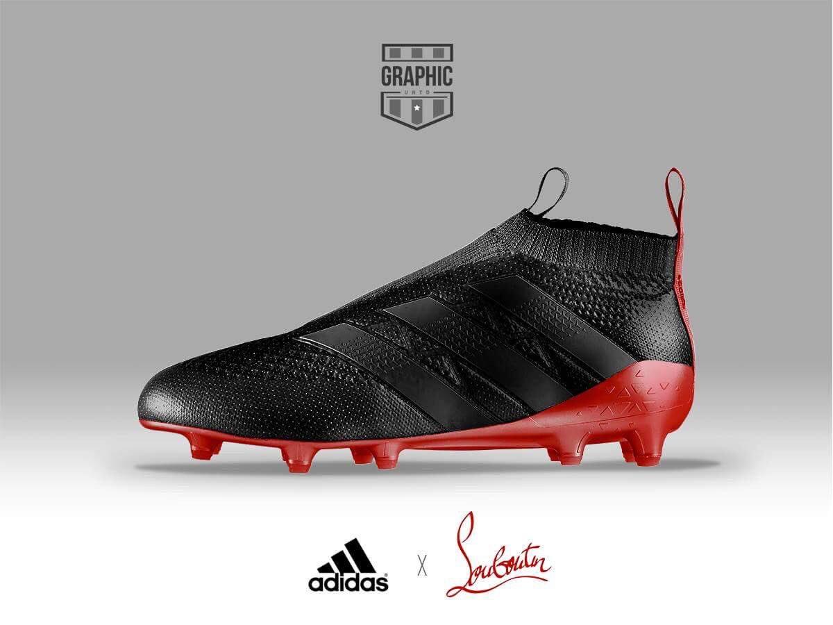60159299e08ea Quand les chaussures de football s habillent aux couleurs de marques ...