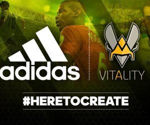 adidas se lance dans le sponsoring eSport avec le Team Vitality