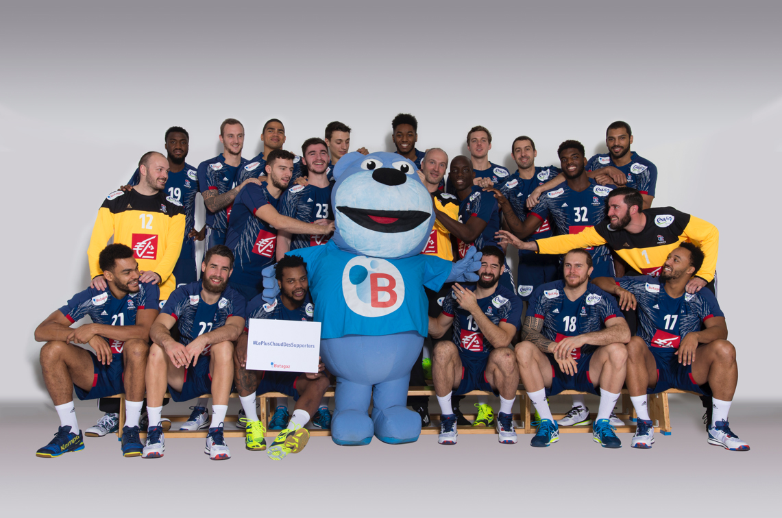 Butagaz Nouveau Sponsor De L Equipe De France De Handball
