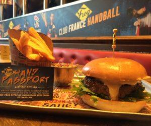 Food – Un «HandBurger» pour célébrer le Mondial de Handball 2017