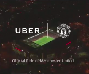 Sponsoring – Uber s'associe à Manchester United