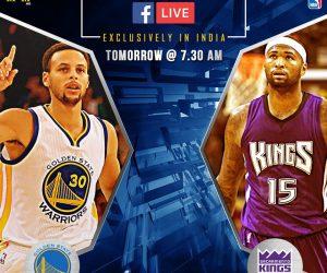 Facebook diffuse pour la première fois un match NBA de saison régulière en direct
